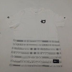 Nike XL White Crewneck Tee  Cotton